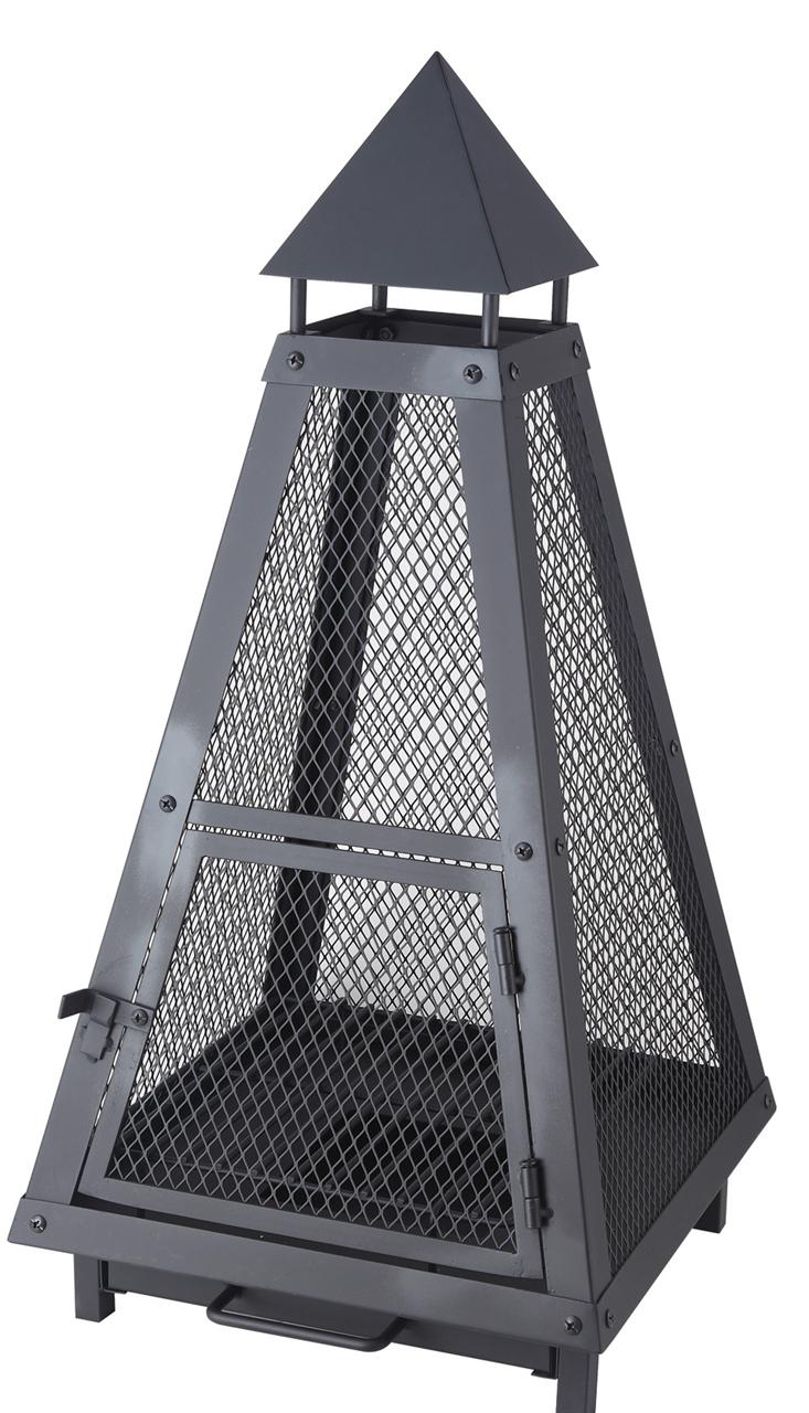 Záhradné prenosné ohnisko Pyramida (PRENOSNé ZáHRADNé OHNISKO)
